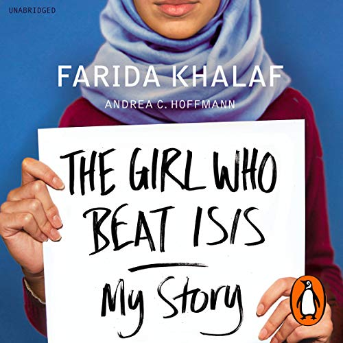 The Girl Who Beat Isis audiobook cover art