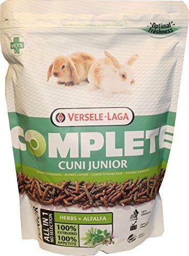 Versele-Laga - Cibo completo per conigli Cuni Junior da 6 a 8 mesi, 0,5 kg
