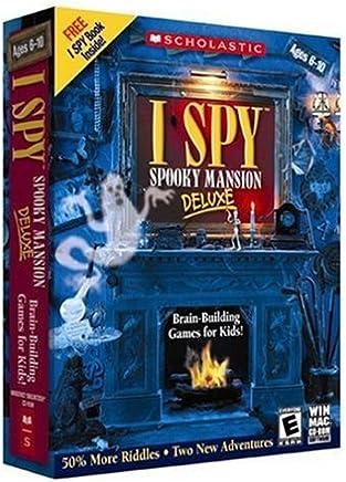 Scholastic I Spy Spooky Mansion Deluxe v2.0 w/I SPY Book & Bonus Mini CD-Rom [Old Version]