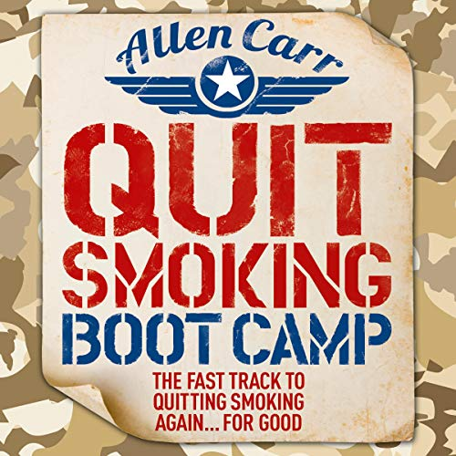 Quit Smoking Boot Camp     The Fast-Track to Quitting Smoking Again for Good              By:                                                                                                                                 Allen Carr                               Narrated by:                                                                                                                                 Richard Mitchley                      Length: 6 hrs and 34 mins     17 ratings     Overall 5.0