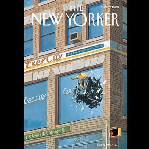 The New Yorker, September 9th 2013 (David Finkel, Malcolm Gladwell, John Lahr) cover art