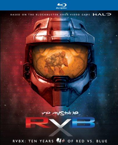 Rvbx: Ten Years Of Red Vs Blue (14 Blu-Ray) [Edizione: Stati Uniti]