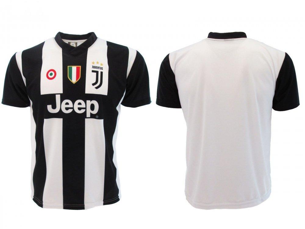 Perseo Trade – Camiseta de Ronaldo 7 Juventus, réplica, neutral PS 27365bis poliéster, negro blanco, XL: Amazon.es: Deportes y aire libre