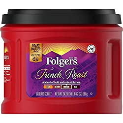 Folgers Gourmet Vs. Hawaiian Isles Kona Blend Ground Coffee
