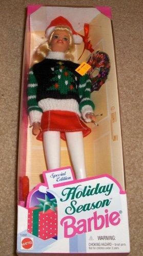 1996 Holiday Season Barbie Doll Special Edition