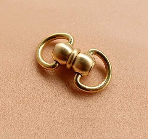 Lysee Hooks - L brass swivels ring lock buckle handmade bag lugg