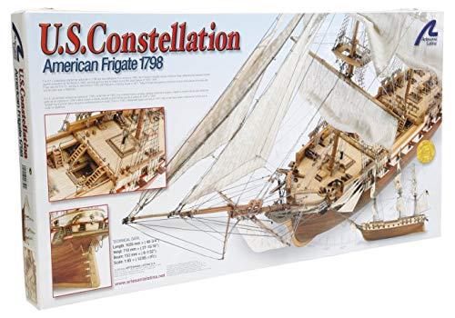 Artesanía Latina 22850. Maqueta de Barco en Madera US Constellation 1/85