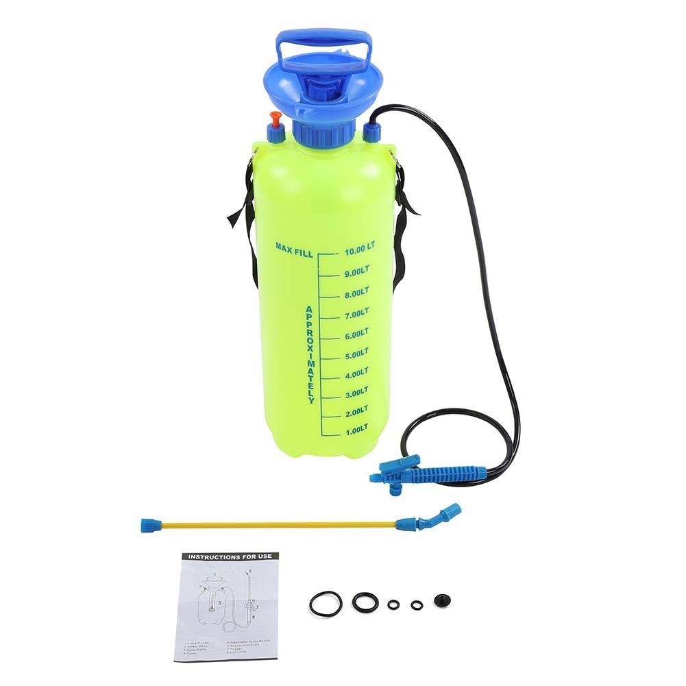 Pulverizador a presión de 10 l con boquilla y correa, pulverizador de mochila de jardín, bomba a presión para jardín, bombas y pulverizadores: Amazon.es: Bricolaje y herramientas