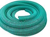 Hero - Manguera en Espiral (40 mm, 10 m), Color Verde y Transparente