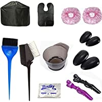13-Pieces Hair Dye Color Brushes & Bowl Set