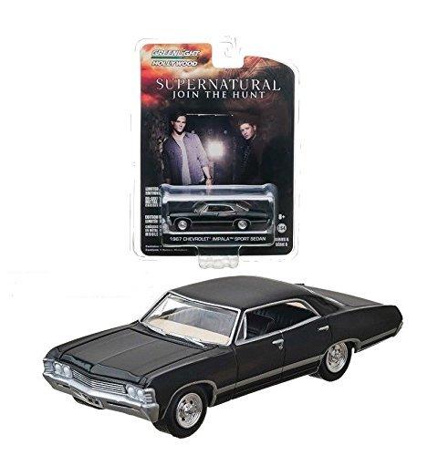 Chevrolet Impala Sport Sedan, schwarz, ''Supernatural'' , 1967, Modellauto, F...