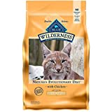 Blue Buffalo Wilderness High Protein, Natural Adult Weight Control Dry Cat Food, Chicken 5-lb