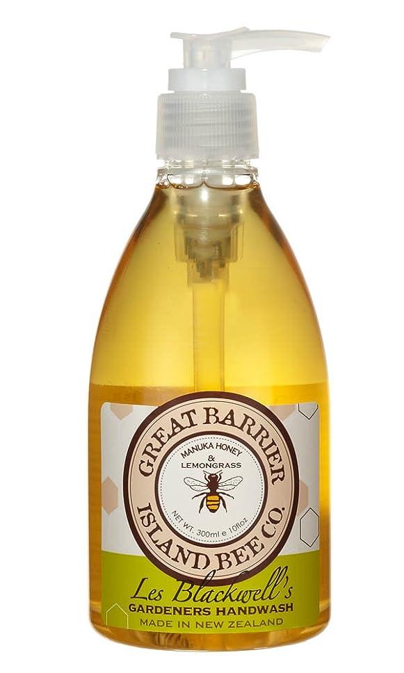 勃起リマーク振幅GBI(グレートバリアアイランドビー) マヌカハニー ハンドウォッシュ レモングラス  300ml