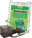 Tetra Pond AquaticCompost – Fertilizante para Fondo de Estanque – Nutrientes para Plantas de Estanque de jardín y decoración – Promueve el Crecimiento de Plantas – 8 litros