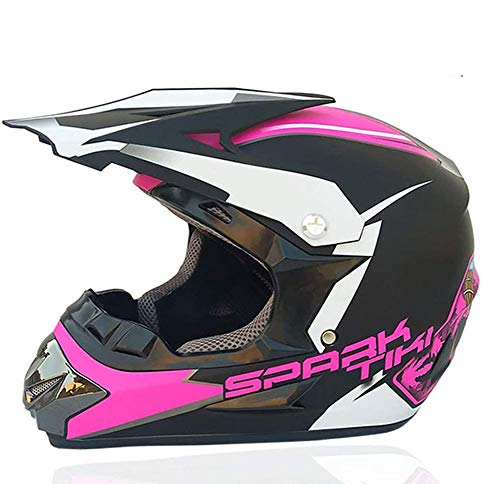 DBSCD Motocross Crash Helm, Motorrad Offroad Helm, Dirt Bike MTB DH Rennhelm,...