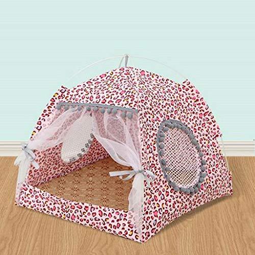 LLKK Casa para Mascotas,Tienda portátil Plegable para Mascotas,para Perros y Gatitos y Animales pequeños