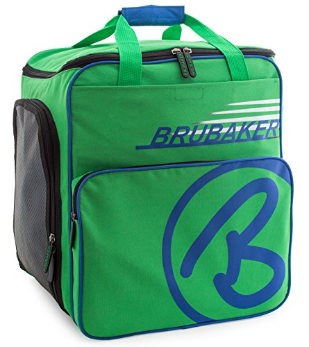 BRUBAKER Boot Bag 'Super Champion' Backpack holds complete Ski or Snowboard...