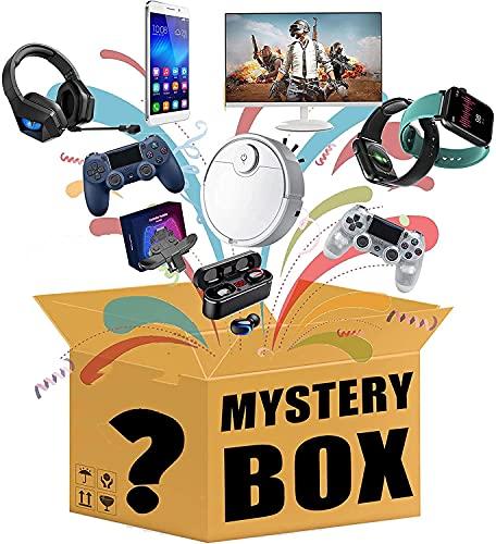 Xinwanhong Mistery Box, Mystery Box, Mistery Box Elettronica Include Smartphone, Orologi Intelligenti, Droni, Auricolari Bluetooth, Robot Spazzanti, Altoparlante Bluetooth, ECC, Casuale