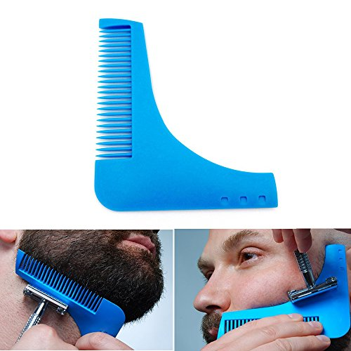 DP DESIGN PETTINE DI PRECISIONE MODELLA REGOLA BARBA BAFFI BASETTE PIZZETTO UOMO MODA FASHION NEW NOVITA