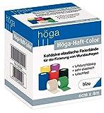 Höga-Haft-Color blau 6 cm x 4 m gedehnt, kohäsive (selbsthaftende) elastische Fixierbinde (1...