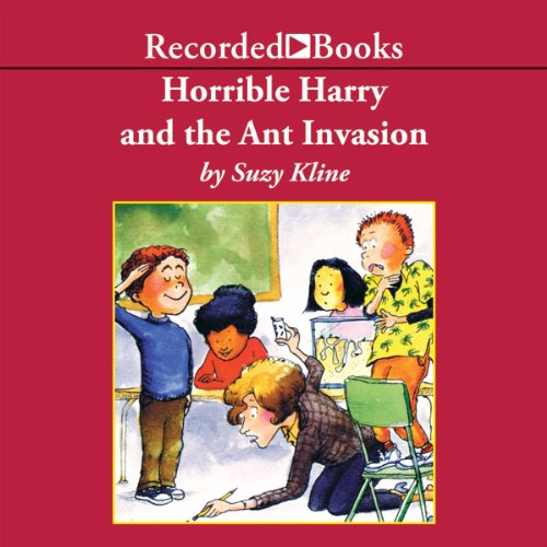 Horrible Harry and the Ant Invasion audiobook cover art