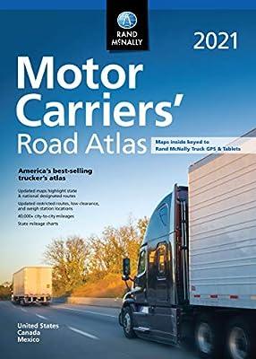 Rand McNally 2021 Motor Carriers' Road Atlas (Rand McNally Motor Carriers' Road Atlas) from Rand McNally