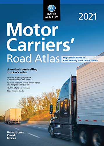 Rand McNally 2021 Motor Carriers' Road Atlas (Rand McNally Motor Carriers' Road Atlas)