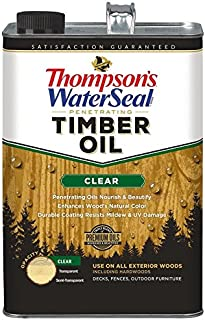 clear timber oil
