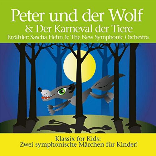 Peter und der Wolf & Karneval der Tiere audiobook cover art