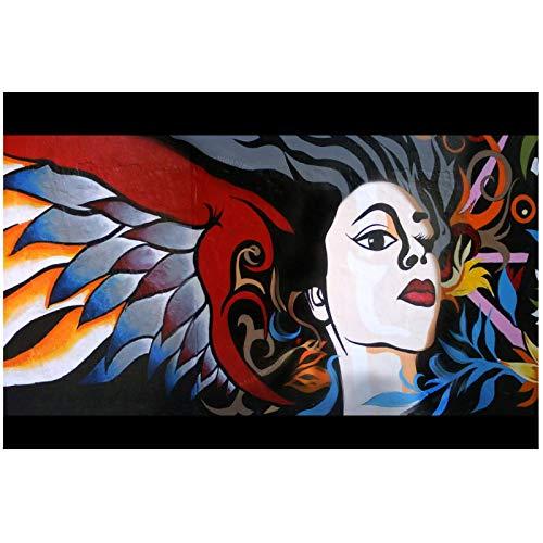 Póster de tela de lienzo con estampado de póster The Grat Graffity Winner para arte de pared, decoración de habitación, decoración del hogar-24X36 en sin marco