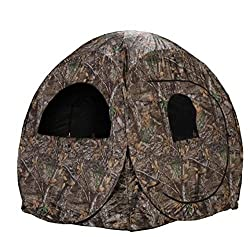 small Rhino Blinds R75-RTE, Hunting Blinds for 2 People, Realtree Edge