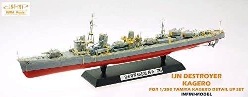 1   350 IM series Japan Navy destroyer kagero detail up set T company for plastic parts IM53503