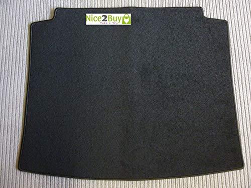 Laderaumteppich Golf 4 Limousine ab 1997 Kofferraumteppich Kofferraumschutz Kofferraummatte schwarz