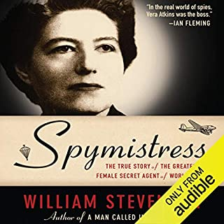 Spymistress audiobook cover art