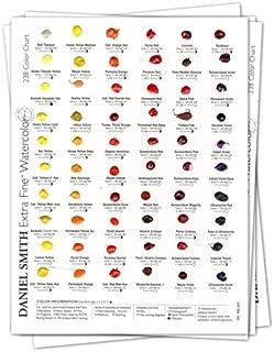 daniel smith watercolor mixing chart