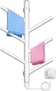 Toallero eléctrico, Secador de toallas inteligente de temperatura constante para el hogar, Radiador toallero eléctrico del hotel, Toallero de pared, Para baño, dormitorio, sala de estar ZDDAB