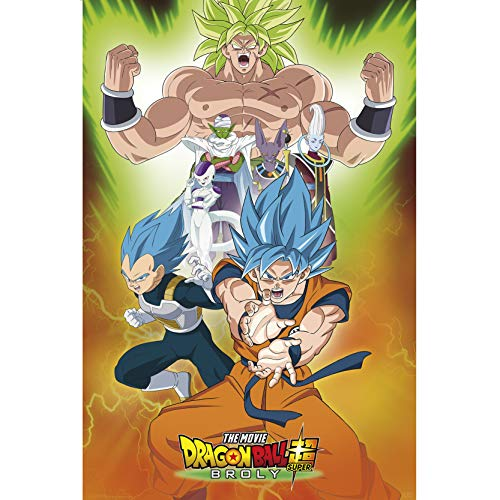 ABYstyle - Dragon Ball Super Broly - Poster - Groupe (91.5x61)
