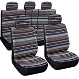 Autojoy Baja Seat Covers,Stitching and Wear-Resistant Automative Protector for Car,SUV (Gray)