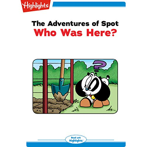 The Adventures of Spot: Who Was Here? copertina