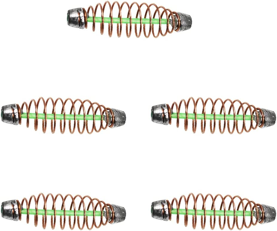 Popular brand in the world PRETYZOOM 5pcs Fishing Bait Spring San Francisco Mall Trap Cages Lure