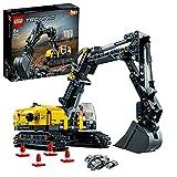 LEGO Technic Escavatore Pesante e Trattore Cingolato, Giocattolo 2 in 1,...