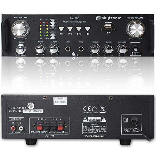 Skytronic AV-100 Stereo Amplifier