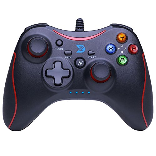 ZD-N【pro】[Red] Wired Gaming Controller Gamepad [Compatible: Nintendo Switch,Steam,TV Box PC(Win7-Win10),Android]