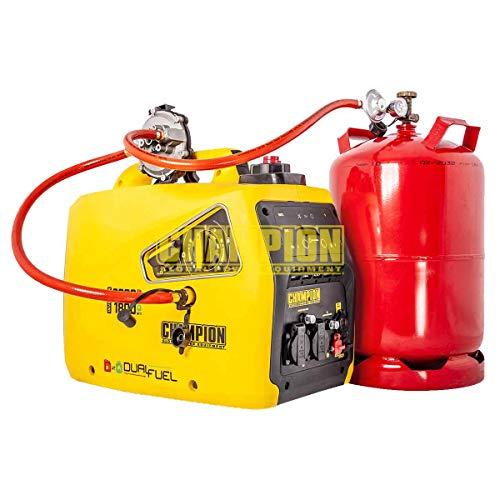 Champion DualFuel 2000 (82001i-E-DF-EU) (Inverter Generator) (Betrieb mit Gas u. Benzin möglich)