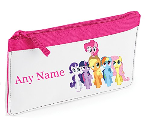 My Little Pony Style Pencil Case - Personalised in a Choice of Colours - by Mayzie Designs