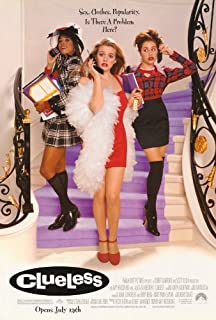 Pop Culture Graphics Clueless Poster Movie 27x40 Alicia Silverstone Stacey Dash Paul Rudd