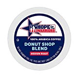 Hope For The Warriors Coffee 42 Single Serve Coffee Pods Keurig K Cup Brewers , Donut Shop, 42 Count