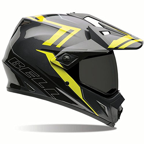 BELL ベル 2017年 MX-9 Adventure アドベンチャー Dual Sport デュアルスポーツ ヘルメット Barricade バリケード ハイビズ/XL 並行輸入品