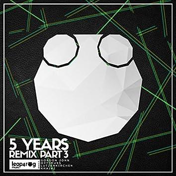 5 Years Remix, Pt. 3