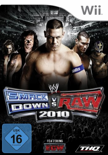 WWE Smackdown vs Raw 2010 [import allemand]